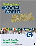 Making Sense of the Social World 5th Edition