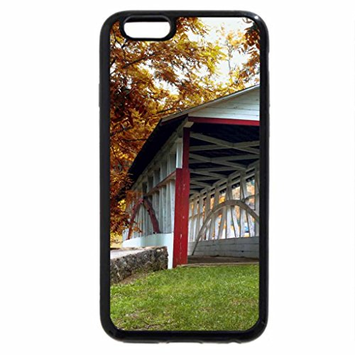 iPhone 6S / iPhone 6 Case (Black) Knisely Covered Bridge, Bedford County, Pennsylvania