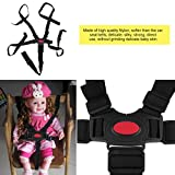 TPSKY Baby 5 Point Harness Safe Belt High Quality Dining Chair Bandage Safety Belt