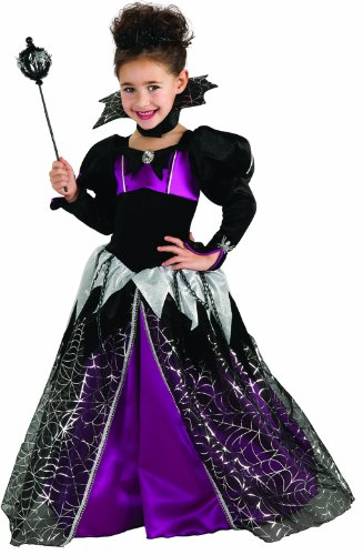 [Little Princess Spider Queen Costume, Small] (Spider Queen Costume For Girls)