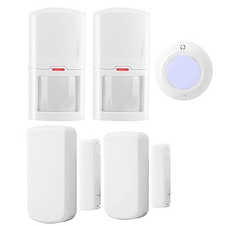 Sistema de Alarma antirrobos WiFi, 1 Sirena de luz de Sonido ...