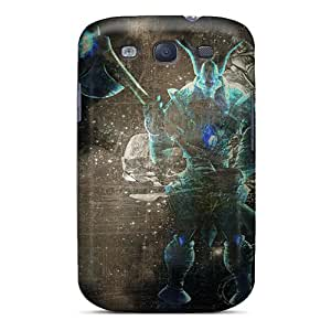 New Style SuperMaryCases Hard Case Cover For Galaxy S3- League Of Legends Nasus