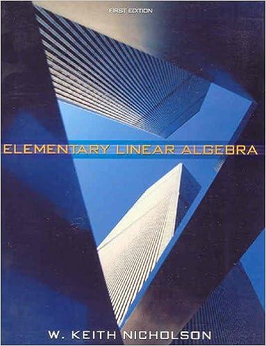 Elementary linear algebra keith nicholson 9780070892293 amazon elementary linear algebra fandeluxe Gallery