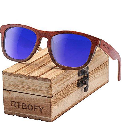 De Y Polarizadas Marco Gafas De De Hechas De Gafa A Gafas Madera Retro Gafas Sol De Mano Bambú Sol De Sol C1 Gafas Madera De con ppxwB