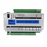 FISTERS Mach3 USB 4 Axis CNC Motion Control Card Breakout Board 400KHz Support Windows 7