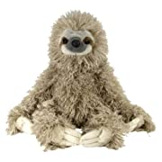 Amazon Lightning Deal 92% claimed: Wild Republic 12257 Cuddlekin Three Toed Sloth 12-Inch Plush