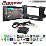 Pioneeer AVIC-6201NEX Double Din Radio Install Kit with GPS Navigation Apple CarPlay Android Auto Fits 2008-2013 Toyota Highlander with Amplified System (Black)