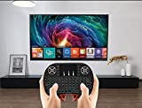 Backlit Mini Wireless Keyboard With Touchpad and Multimedia Keys for Android TV Box HTPC PS3 XBOX360 Smart Phone Tablet Mac Linux Windows OS , New Model mini keyboard touchpad mouse