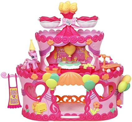 Brilliant Amazon Com My Little Pony Ponyville Roller Skate Party Cake With Personalised Birthday Cards Petedlily Jamesorg
