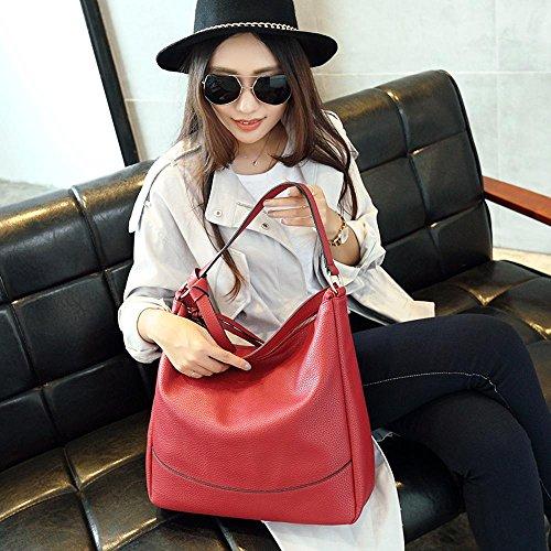 Main à PU à DM0068 4 Bag Mode Sac Mlle 13 bandoulière Couleurs Grande Messenger 34 capacité ANLEI 34 02 Sac CM wBqpEvnS