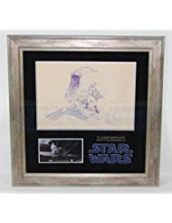 Original Movie Prop - Star Wars: Episode IV - A New Hope - Original Dyeline Print of Stormtrooper - Authentic