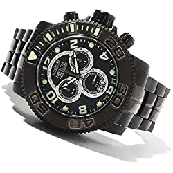 Invicta 80355 Mens Sea Hunter Swiss Made Chronograph Mother-of-Pearl Dial Watch