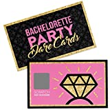 Bachelorette Party Dare Card Game for an Exciting Girls Night Out! 22 Semi-Naughty Scratch Off Cards Any Bride And Party Girls Would Love!