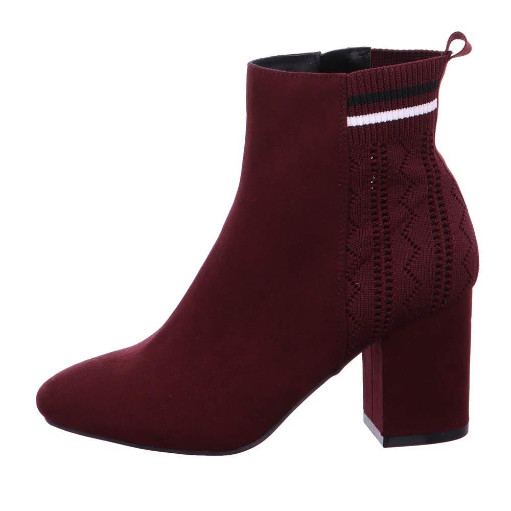 La Strada Damen Stiefeletten Stiefelette mit Blockabsatz 1705586 BORDO BORDO BORDO rot 559567 669db0
