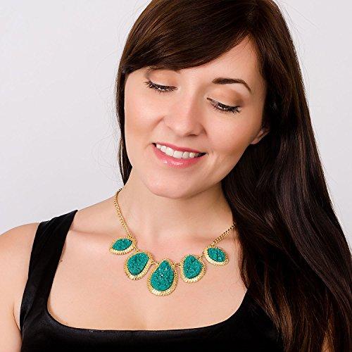 Jane-Stone-Bubble-Bib-Chunky-Necklace-Fashion-Jewelry-Statement-Necklace-Party-JewelryFn0564