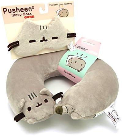 GUND Pusheen Neck Pillow Bundle product image