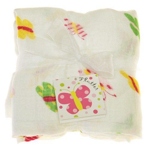 Imagine Baby Products Bamboo Swaddling Blanket (Flutter)