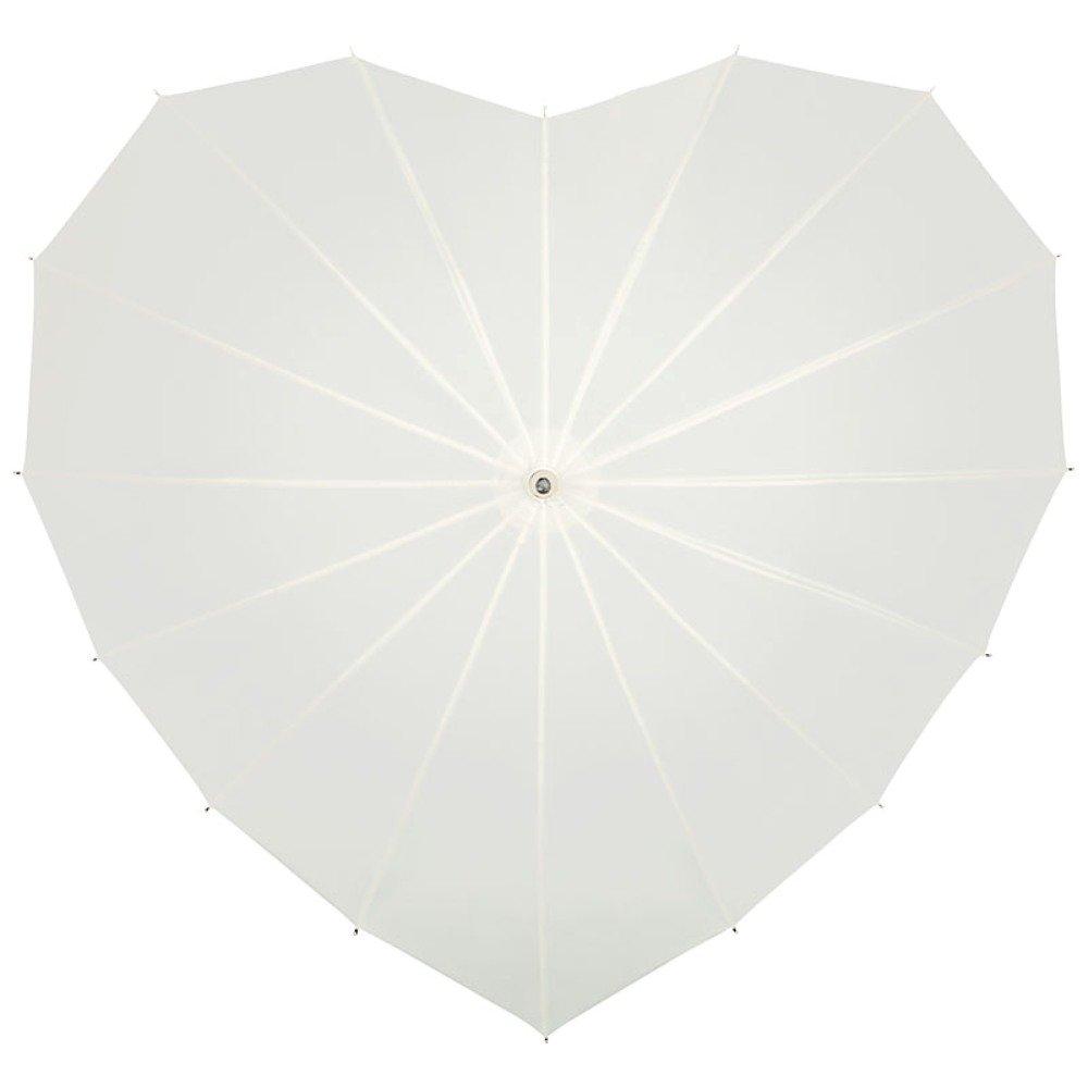 a2c1ee22bb6b VON LILIENFELD® Ombrello Sposa Matrimoni Donna Cuore ecru