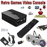 Raspberry Pi 3 Based Retro Video Game System - RetroPie - Retro Games - 32GB Edition - Bundle with Wireless Remote