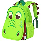 Toddler Backpack for Boys, 12' Dinosaur Preschool Bag