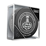 Inglasco 511AN001166 2018 NHL Game Puck Stanley Cup Finals, Capitals Vs Vegas Knights #3, Black, One Size