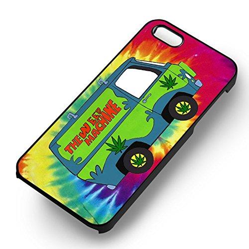 Scooby Doo The Weed Machine pour Coque Iphone 6 et Coque Iphone 6s Case (Noir Boîtier en plastique dur) O8G3TK