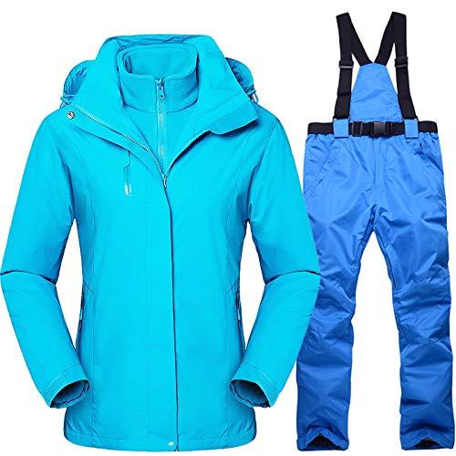 LilyAngel 女子スキーは冬の防風防水スノーボードジャケットとパンツの女性のアウトドアスポーツハイキングキャンプ暖かいコートスーツ (色 : 14, サイズ : XS)