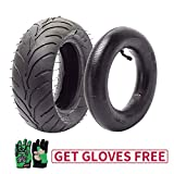 110/50-6.5 Tire and Tube 110-50-6.5 Tire & Inner Tube for 40 47 49CC Kids Mini Pocket Dirt Pit Bike Scooters