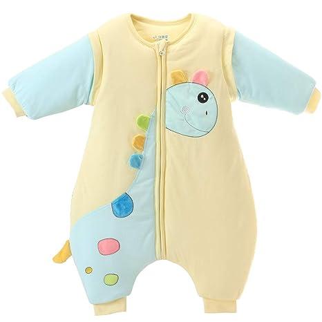 Vine Bebé Saco de dormir Con separado los pies Mangas Desmontables 3 Tog