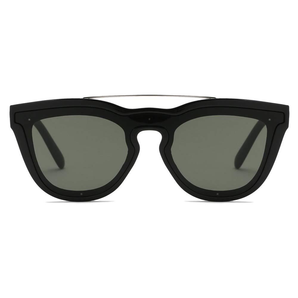 Excellent Modern Colored Rim Mens Horn Sunglasses