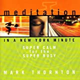 in a new york minute - Meditation in a New York Minute