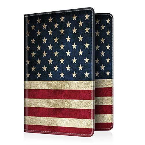 - Fintie Passport Holder Travel Wallet RFID Blocking PU Leather Card Case Cover, US Flag