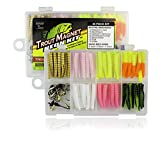 Trout Magnet Neon Kit - 70 Grub Bodies and 15