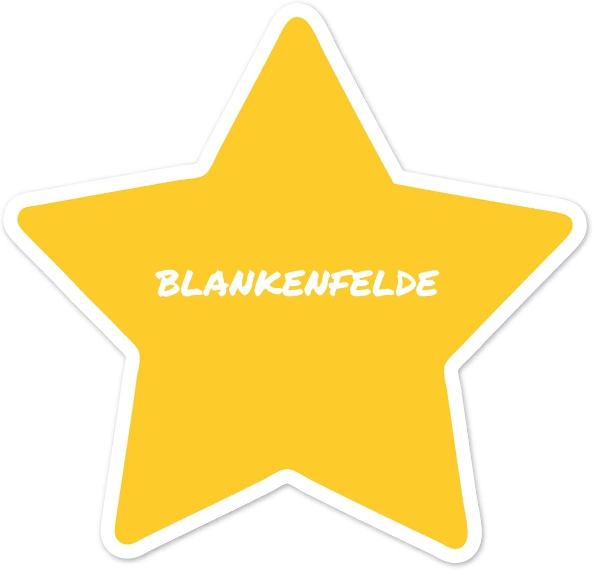 JOllify Aufkleber Farbe Design BLANKENFELDE Ortsschild
