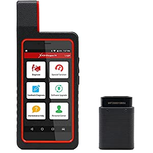 Launch X431 DIAGUN IV Automotive Diagnostic Tool OBD2 Scanner Code Reader with Wifi & Bluetooth Covering 108 Vehicle Makes + 2 Years Free Update