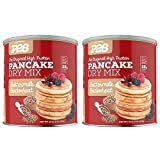 P28 Foods High Protein Pancake Dry Mix Buttermilk Buckwheat -- (2 Pack of 16 oz)