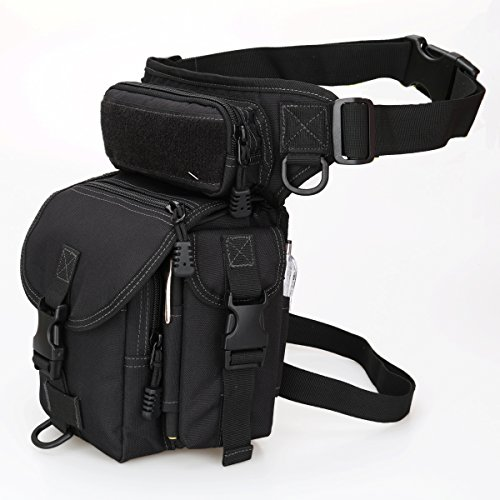 Multipurpose Tactical Fanny Pack Walking Man Military Drop