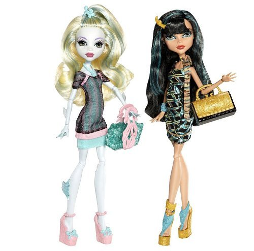 MONSTER HIGH Scaris City of Frights 2-Pack LAGOONA BLUE & CL