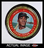 1971 Topps Coins # 52 Cesar Tovar Minnesota Twins (Baseball Card) Dean's Cards 4 - VG/EX Twins
