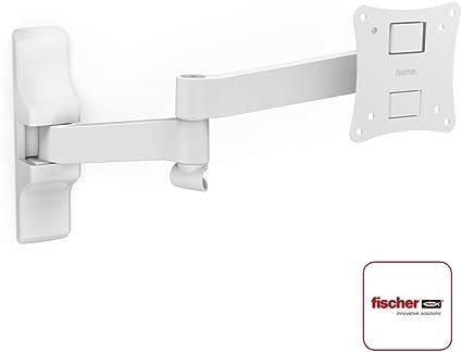 Hama 108737 - Soporte de pared para TV con pantalla plana, blanco: Amazon.es: Electrónica