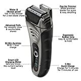 Wahl-Smart-Shave-Rechargeable-lithium-ion-wet-dry-water-proof-foil-shaver-for-men-Smartshave-technology-for-shaving-trimming-and-wet-or-dry-shave-with-precision-ground-trimmer-blade-7061-900