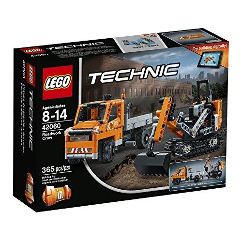 LEGO Technic Roadwork Crew 42060 Building Kit