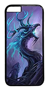ACESR Dragon iPhone 6 Hard Case PC - Black, Back Cover Case for Apple iPhone 6(4.7 inch)