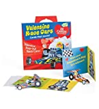 Peaceable Kingdom Funny Valentine 28-Card Super Packs, in Race Cars