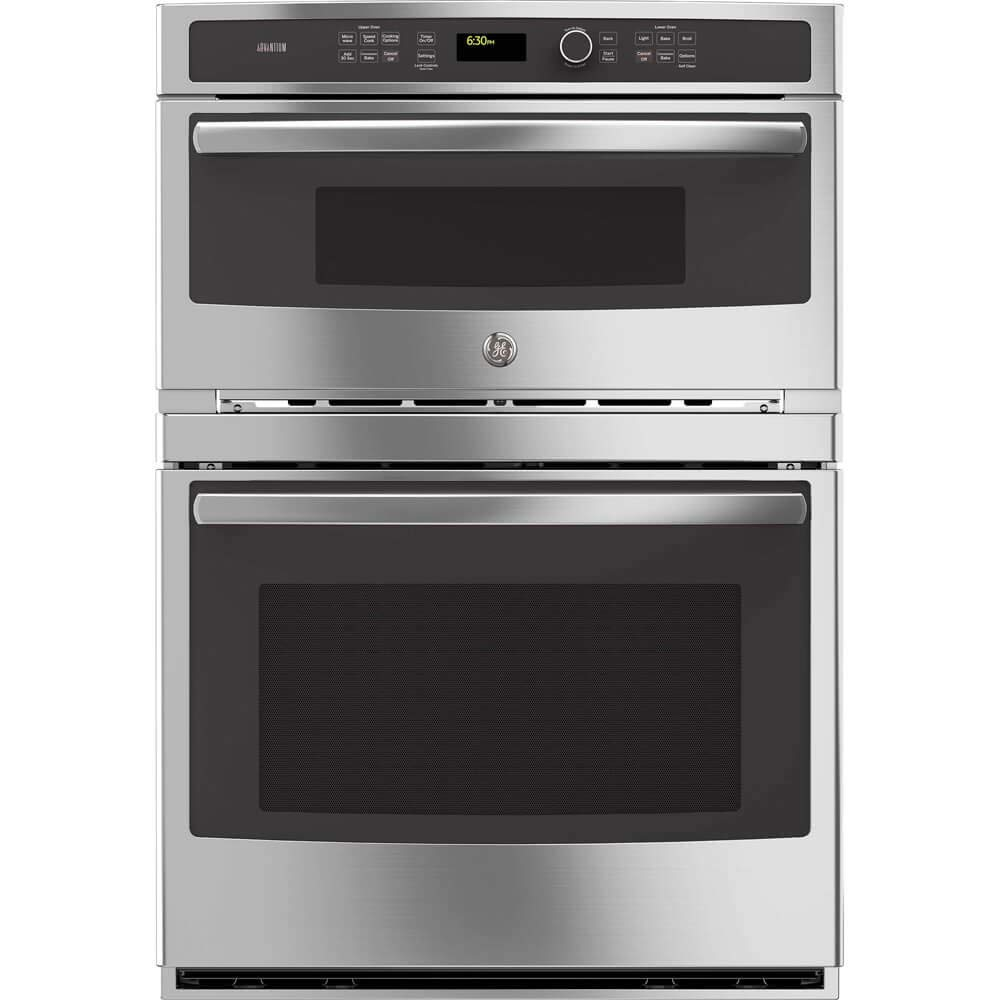 "GE Profile PT9800SHSS 30"" Built-in Combination Wall Oven in Stainless Steel (Certified Refurbished)"