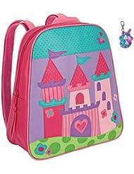 Stephen Joseph Princess Castle Backpack with Zipper Pull - Girls Backpacks