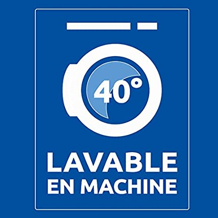 Bleu C/âlin Traversin Plat M/émoire de Forme Blanc 160 x 40 cm TMFW