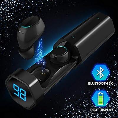 Wireless Ear Buds, SOAIY T2 Bluetooth 5.0 True Wireless Bluetooth Headphones