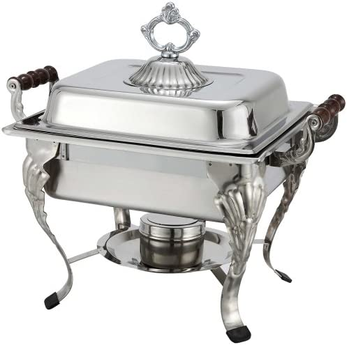 Winco 508 Half Crown Chafer, 4-Quart