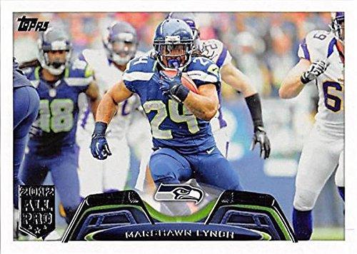 Marshawn Lynch football card (Seattle Seahawks Super Bowl Champion) 2013 Topps All Pro #30 ()